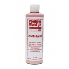 Poorboy's World Natty's Liquid Wax Red skystas vaškas