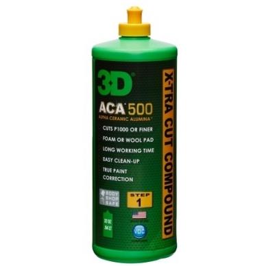 3D ACA Poliravimo Pastų rinkinys 2