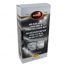 Autosol Headlight Polish & Protection žibintų atnaujinimo komplektas