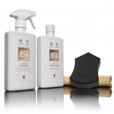 Autoglym Leather Clean & Protect komplektas
