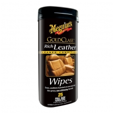 Meguiar's Gold Class Rich Leather & Conditioner Wipes