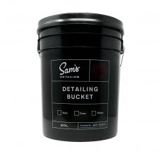 Sam's Detailing Bucket su dangčiu ir grotelėmis