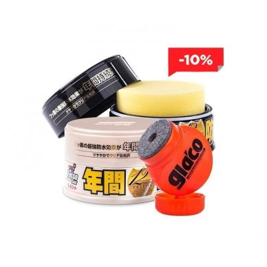 Soft99 Fusso + Glaco Kit 2